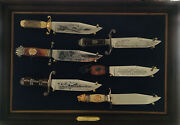 Rare Franklin Mint American Western Heritage Museum Bowie Knife Collection