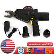Cable Wire Terminal Battery Power Crimper Ratcheting Crimping Pliers Tool Usa