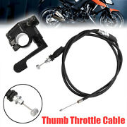 50-150cc 110cc Thumb Throttle Accelerator Cable For 4 Stroke Buggy Atv Pit Bike