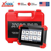 Xtool X100 Pad Auto Immo Key Programmer Obd2 Vin Coding Abs Diagnostic Scanner