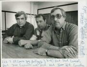 1989 Press Photo Police Officers Paul Lengyel, John Costanzo And Bill Connelly