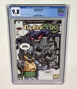 Cyberfrog 2 Cgc 9.8 Key White Pages Ethan Van Sciver 1994 Hall Of Heroes