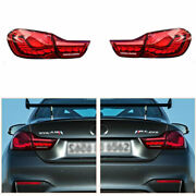 Taillights Assembly For Bmw M4 F82 F83 F33 F36 12-18 Red Led Turn Signal Dynamic
