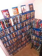 Over 900 Blu Ray Movies Some Steel Books All Original Cases Inc. Books/totes