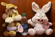 Baby Wile E. Coyote/ Baby Bugs Six Flags Exclusive Plush
