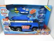 Spin Master Paw Patrol Chase Ultimate Police Cruiser 5 In 1 Vehicles