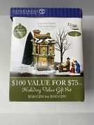 Department 56 Dickens Village Victorian Family Christmas House