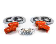 Agency Power Big Brake Kit Front And Rear Orange Can-am X3 Turbo