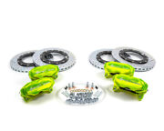 Agency Power Big Brake Kit Front And Rear Monster Green Can-am X3 Turbo