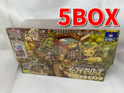 Pokemon Card Game Enhancement Expansion Pack Eeveeand039s Set Zlimited 5box