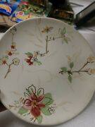 10 Tracy Porter Fleur Plates Collection Find Your Bliss Hand Painted 8/14s