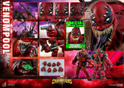 Hot Toys Vgm35 Marvel Contest Of Champions:1/6 Venompool Figure Deluxe Edition