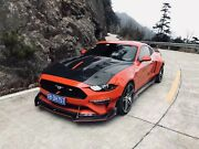 Fiberglass Wide Body Kit Front Bumper For Ford Mustang 2018 -19