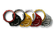Cnc Racing Clear Clutch Cover Bicolor For Ducati Diavel 1200 - St3 St4 /s New