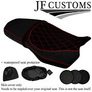 Dsg1 Red Stitch Custom For Bmw F 750 850 Gs 18-20 Seat Cover + Wsp