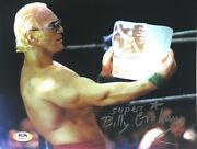 Wwe Billy Graham Hand Signed Autographed 8x10 Photo With Psa Dna Coa Rare 6