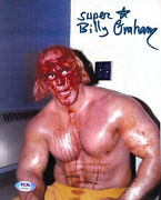 Wwe Billy Graham Hand Signed Autographed 8x10 Photo With Psa Dna Coa Rare 10