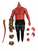 1/6 Scale Toy Hellboy - Red Male Body W/hand And Tail Set