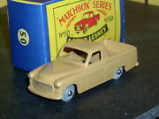 Matchbox Moko Lesney Commer Pick Up 50 A2 Pale Brown Mw D-c Sc2 Vnm Crafted Box