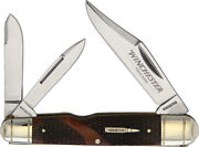 New Winchester Large Whittler Brown Checkered Kb311w / Wn39101c