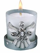 Regal Favor Collection Angel Themed Candle Holders, 16