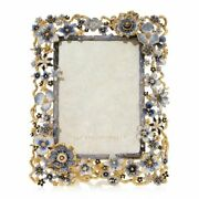 Jay Strongwater Ophelia Cluster Flower 5 X 7 14kgold Spf5859-284 New