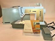 Singer Touch And Sew Model 603e Sewing Machine And Case