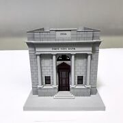 M.t.h. Electric Trains Rail King O Scale First City Bank 1934 Model Train