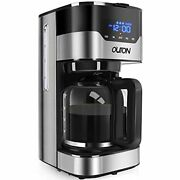 Outon Coffee Maker 10 Cup, Programmable Drip Coffee Maker, Multiple Brew Streng