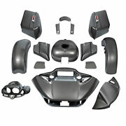 Fairings Bodywork Fit For Harley Touring Road Glide Ultra 15-21 Industrial Gray