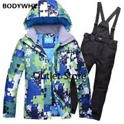 Ski Suit Outdoor Sports Snowboard Waterproof Jacket Thick Warm Snow Clothing