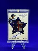 Wander Franco Flawless 4th Of July Stars And Stripes Rookie Patch Auto 1/7 Rare