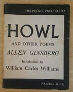 Allen Ginsberg, Howl And Other Poems - 6th Printing - City Lights. Nice.