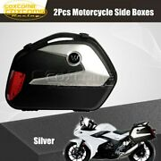 Side Case 20l Cargo Box For Harley Touring Glide Bmw Tail Luggage Case Panniers