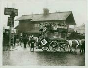 Changing Horses At Swiss Cottage. - Vintage Photograph 1915981