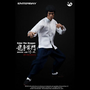 Enterbay Bruce Lee Figure Enter The Dragon Tiger Fight B Version Limited B610