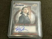 2020 Avengers Endgame Legends Never Die Casual Autograph Hayley Atwell Auto