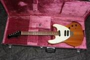 Greco Famous 80 Make Boogie Natural Mahogany With Genuine Hard Case Baby Gang