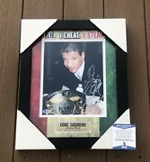 Eddie Guerrero Signed And Inscribed Framed Wwe Champion 8x10 Photo Beckett Coa