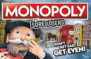 Monopoly - For Sore Losers Edition - The Game Where It Pays To Lose 2-6 Players