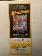 Larry Holmes Vs Gerry Cooney 1982 Full Ticket For World Heavyweight Championship