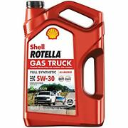 Shell Rotella - 550050319 Gas Truck Full Synthetic 5w-30 Motor Oil Pack Of 1