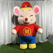 Inflatable Mouse Mascot Costume Cosplay Dress Outfits Advertising Halloween 2m