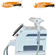 Widely Used 755+808+1064 Diode Hair Removal Nd Yag Laser Tattoo Removal Machine
