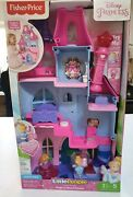Fisher- Price Little People Disney Princess Magical Wand Palace Brand New
