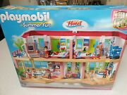 Playmobil Large Furnished Hotel 5265 Brand New Retired Set