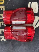 20-21 Ford F-250-350 Led Tail Lights With Blind Spot Module Oem With Adapter