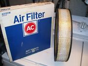 Vintage Oem Nos Gm Ac Delco A212cw Air Filter 1966-79 Chevy Buick Pontiac Olds