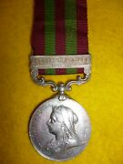 India General Service Medal 1895 Punjab Frontier To A Lance Naik 14th Sikhs