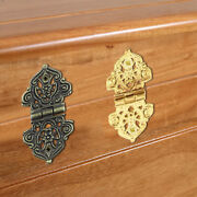 Mini Antique Bronze Or Gold Hinges Jewellery Wooden Boxes Small Hinges Craft E7